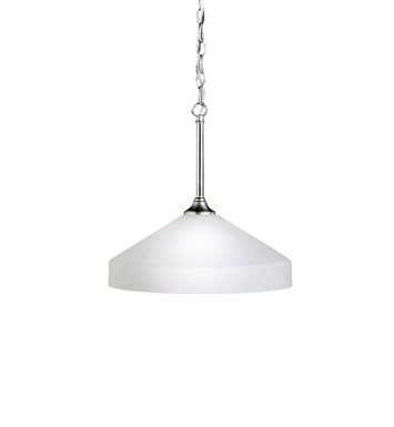 Kichler 3349NI Ansonia Collection Pendant 1 Light in Brushed Nickel