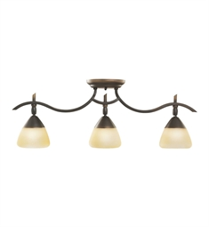Kichler Olympia Collection Fixed Rail 3 Light Halogen in Olde Bronze