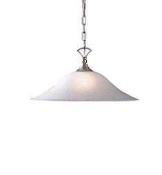 Kichler Hastings Collection Pendant 1 Light in Brushed Nickel
