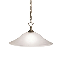 Kichler Hastings Collection Pendant 1 Light in Tannery Bronze