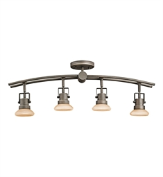 Kichler Structures Collection Fixed Rail 4 Light Halogen in Olde Bronze
