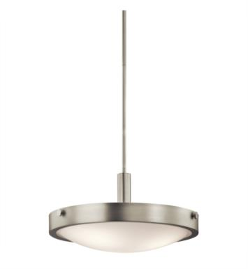 Kichler 42245OZ Lytham 3 Light Incandescent Convertible Semi-Flush Inverted Pendant with Bowl Shape With Finish: Olde Bronze
