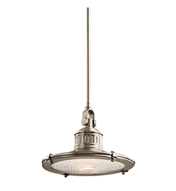 Kichler 42437AP Sayre Collection Pendant 1 Light in Antique Pewter