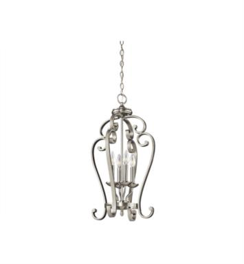 Kichler 43165OZ Monroe 4 Light Incandescent Foyer Pendant With Finish: Olde Bronze