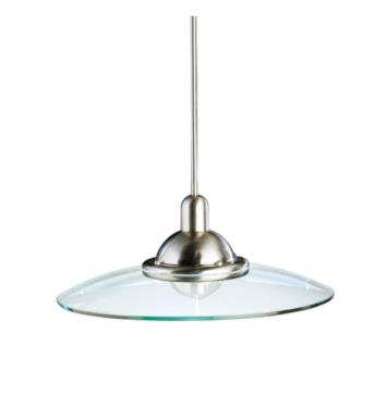 Kichler 2640NI Galaxie 1 Light Incandescent Full Sized Pendant in Brushed Nickel