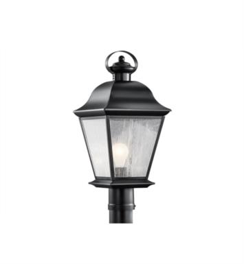 Kichler 9909OZ Mount Vernon 1 Light Incandescent Outdoor Post Mount Lantern With Finish: Olde Bronze
