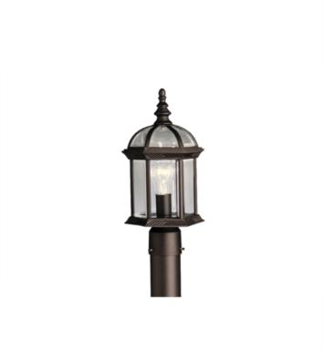 Kichler 9935 Barrie 1 Light Incandescent Outdoor Post Mount Lantern