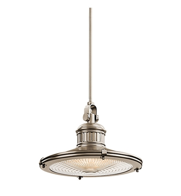 Kichler 42438AP Sayre Collection Pendant 1 Light in Antique Pewter