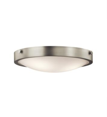Kichler 42275 Lytham 3 Light Incandescent Flush Mount Ceiling Light with Dome Shape Glass Shade