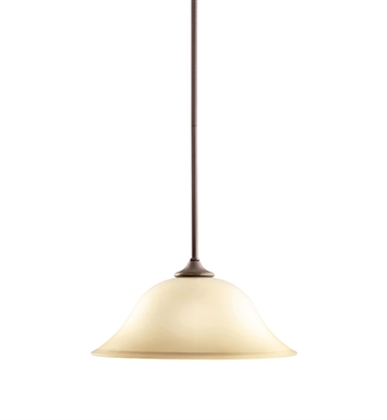 Kichler 3587OZ Wedgeport Collection Pendant 1 Light in Olde Bronze