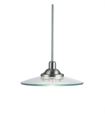 Kichler 2643NI Galaxie 1 Light Incandescent Large Pendant in Brushed Nickel