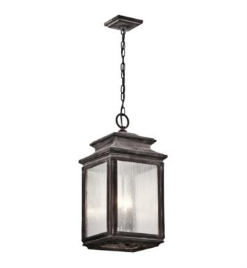 Kichler 49505WZC Wiscombe Park 4 Light Incandescent Outdoor Hanging Pendant With Finish: WZC