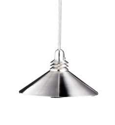 Kichler Pendant 1 Light in Brushed Nickel
