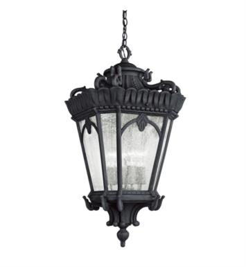 Kichler 9564LD Tournai 4 Light Incandescent Outdoor Hanging Pendant With Finish: Londonderry