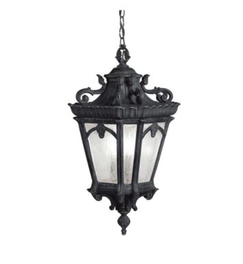 Kichler 9855LD Tournai 3 Light Incandescent Outdoor Hanging Pendant With Finish: Londonderry