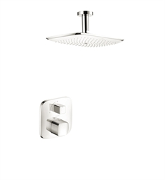 Hansgrohe HG-PRSHOWERSYS1 PuraVida Shower System in White/Chrome Dual Finish