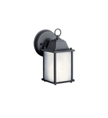 Kichler 10923 1 Light Compact Fluorescent Outdoor Wall Sconce with Rectangular Shaped Synthetic Shade