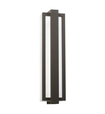 "Kichler 49435PL Sedo 1 Light 24 1/4"" LED Outdoor Wall Sconce With Finish: Platinum P"
