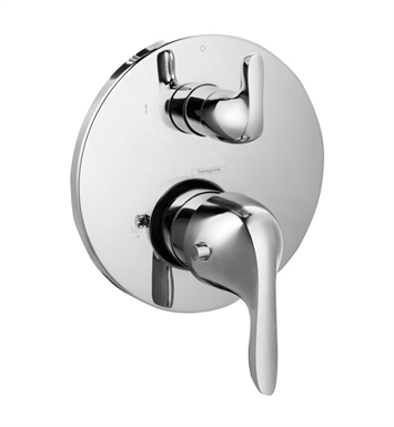 Hansgrohe 04225000 E Thermostatic Trim with Volume Control in Chrome