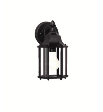 "Kichler 9774 Chesapeake 1 Light 5 1/2"" Incandescent Outdoor Wall Sconce with Rectangular Shaped Glass Shade"