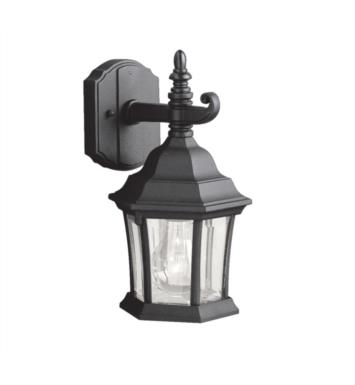 "Kichler 9788TZ Townhouse 1 Light 6 1/2"" Incandescent Outdoor Wall Sconce with Lantern Shaped Glass Shade With Finish: Tannery Bronze"