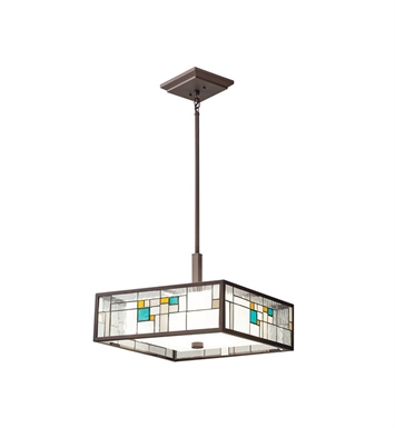Kichler 65392 Caywood Collection Semi Flush 4 Light