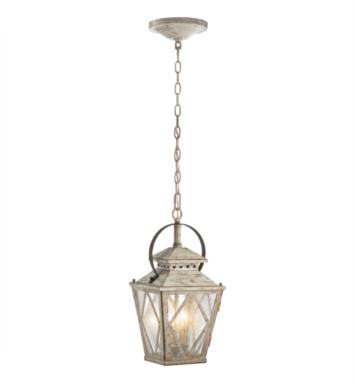 Kichler 43258DAW Hayman Bay 2 Light Incandescent Indoor Pendent in Distressed Antique White