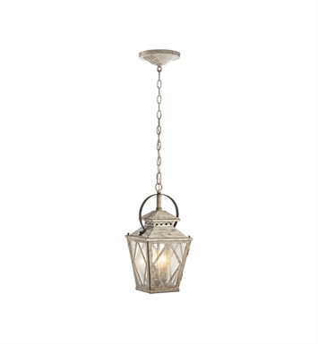 Kichler 43258DAW Hayman Bay Collection Interior Pendant 2 Light in Distressed Antique White
