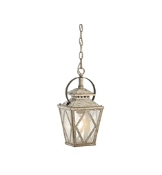 Kichler Hayman Bay Collection Interior Pendant 1 Light in Distressed Antique White