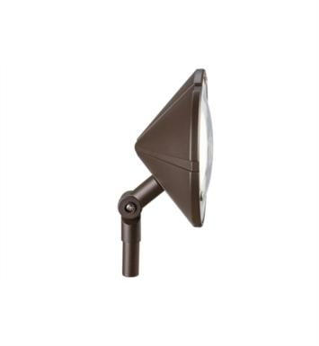 Kichler 15361AZT Six Groove 1 Light 12V Landscape Wall Wash Path Light With Finish: Textured Architectural Bronze