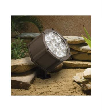 Kichler 15752BBR Landscape LED 12.4W 12V 9 Light 35 Degree Accent Light With Finish: Bronzed Brass