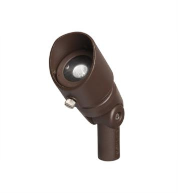 Kichler 16000AZT27 Landscape LED 3W 12V 1 Light 10 Degree Spot Accent Light With Finish: Textured Architectural Bronze And Color Temperature: Kelvin Temperature: 2700K