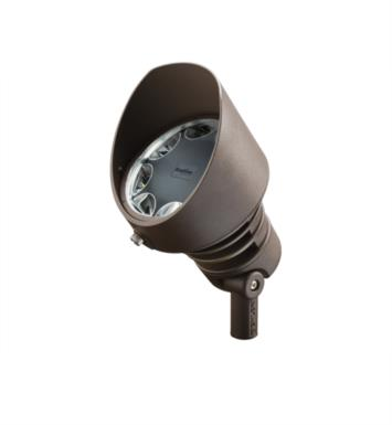 Kichler 16014AZT30 Landscape LED 21W 12V 8 Light 60 Degree Wide Flood Light With Finish: Textured Architectural Bronze And Color Temperature: Kelvin Temperature: 3000K
