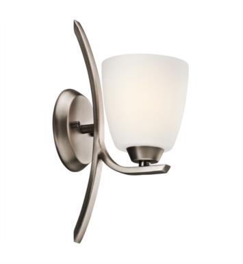 "Kichler 45358OZ Granby 1 Light 5 3/4"" Incandescent Wall Sconce with Dome Shaped Glass Shade With Finish: Olde Bronze"