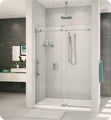 "Fleurco K257-11-40L Kinetik K2 In Line Door and Panel With Dimensions: Width: 57"" to 59"" 