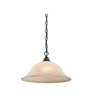 Kichler 43233OZ Camerena Collection Pendant 1 Light in Olde Bronze