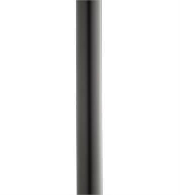 "Kichler 9501BK 84"" Direct Burial Aluminum Outdoor Post with Ladder Rest With Finish: Black"