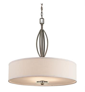 Kichler 42482OZ Leighton 3 Light Incandescent Pendant in Olde Bronze