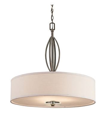 Kichler 42482OZ Pendant 3 Light in Olde Bronze