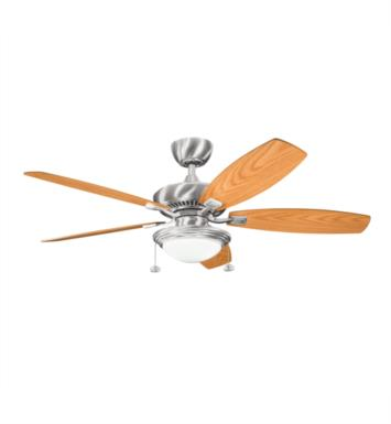 "Kichler 300016OBB Canfield Select 5 Blades 52"" Indoor Ceiling Fan With Finish: Oil Brushed Bronze"