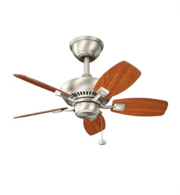"Kichler 300103OBB Canfield 5 Blades 30"" Indoor Ceiling Fan With Finish: Oil Brushed Bronze"