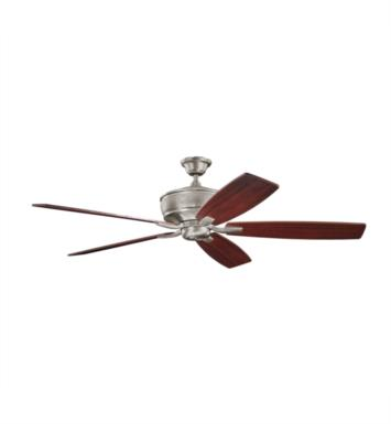 "Kichler 300106BAP Monarch 5 Blades 70"" Indoor Ceiling Fan With Finish: Burnished Antique Pewter"