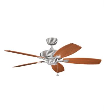 "Kichler 300117WH Canfield 5 Blades 52"" Indoor Ceiling Fan With Finish: White"