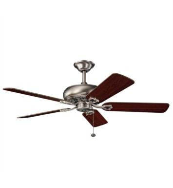 "Kichler 300118OBB Bentzen 5 Blades 52"" Indoor Ceiling Fan With Finish: Oil Brushed Bronze"