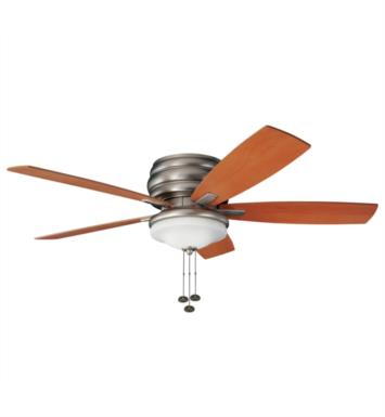 "Kichler 300119WH Windham 5 Blades 52"" Indoor Ceiling Fan With Finish: White"