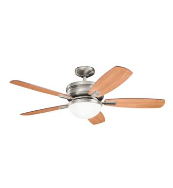 "Kichler 300138AP Carlson 5 Blades 52"" Indoor Ceiling Fan With Finish: Antique Pewter"