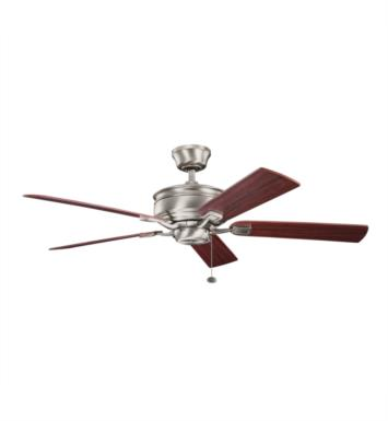 "Kichler 300178AP Duvall 5 Blades 52"" Indoor Ceiling Fan With Finish: Antique Pewter"