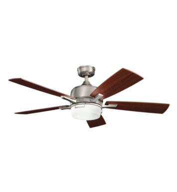 "Kichler 300427AP Leeds 5 Blades 52"" Indoor Ceiling Fan With Finish: Antique Pewter"
