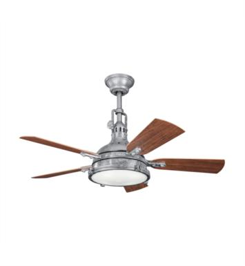 "Kichler 310101WCP Hatteras Bay Patio 5 Blades 44"" Indoor Ceiling Fan With Finish: Weathered Copper Powder Coat"
