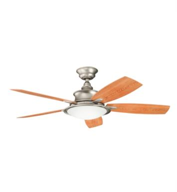"Kichler 310104WCP Cameron 5 Blades 52"" Indoor Ceiling Fan With Finish: Weathered Copper Powder Coat"